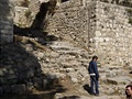 15 nedávno objevené schody ke Kaifášovu domu - pozor, strašně kloužou