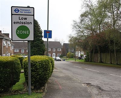 low emission zone