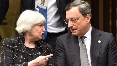 Jackson Hole - Yellen and Draghi