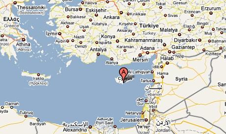 Mapa Mapa Sveta Kypr