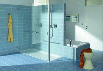 Sprchový kout ze sádrokartonu