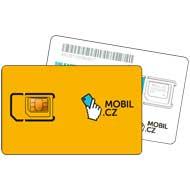 MOBIL.CZ SIM karta s kreditem 200 K�