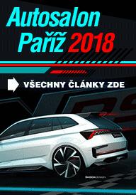 Autosalon Paříž 2018