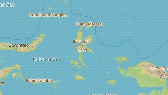 Severní Moluky v Indonésii