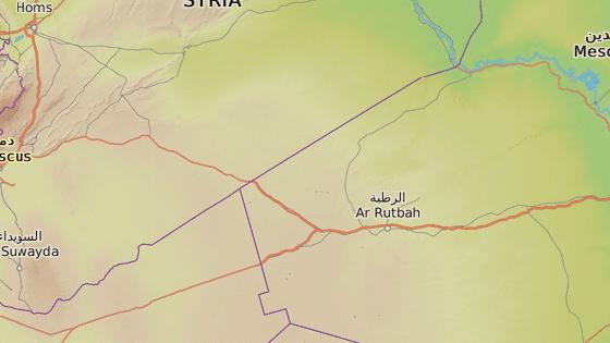 Základna Al-Tanf na východě Sýrie