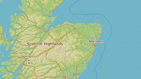 Větrná elektrárna se bude nacházet 25 kilometrů od přístavního města Peterhead