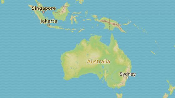 Cesta ze Sydney na Bali.