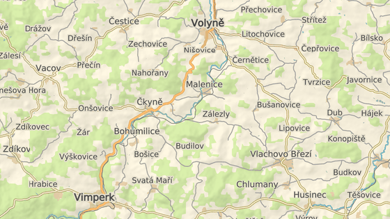 Nehoda se stala na silnici I/4 mezi Vimperkem a Strakonicemi u obce Zlešice.