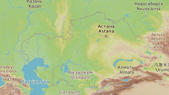 Akťubinská oblat, Kazachstán