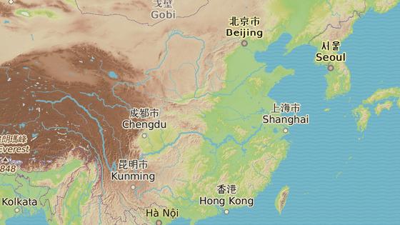 Okres Wej-sin se nachází v provincii Jün-nan na západě Číny.