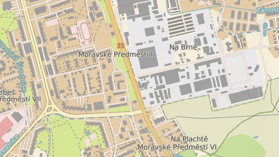 Nejspíš bude nutné upravit křižovatku ulic Brněnská a Na Brně.