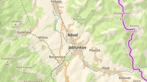 Tragická nehoda se stala na silnici z Návsí do Milíkova.