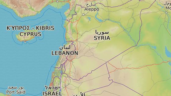 Libanon sousedí se Sýrií a Izraelem a na západě jej omývá Středozemní moře.