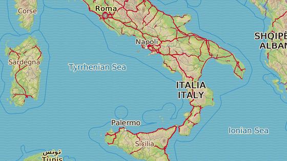 Provincie Vibo Valentia leží na samém jihu Itálie.