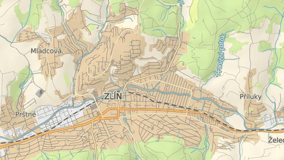 Čiperova vila se nachází na kraji Zlína v části Burešov.