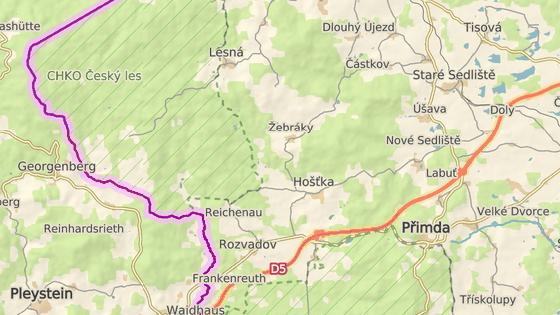 Tragická nehoda se stala na silnici mezi obcemi Žebráky a Hošťka na Tachovsku.
