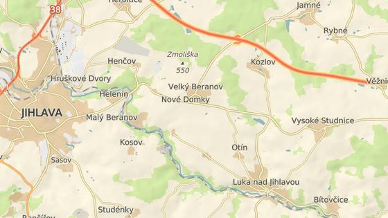 Na silnici 602 u Velkého Beranova se stala tragická nehoda