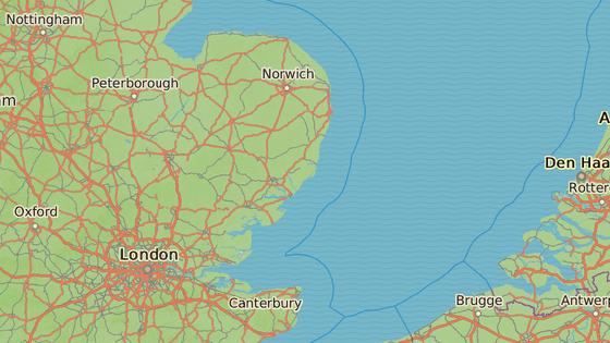 Sealand se nachází v Severním moři asi deset kilometrů od Anglie