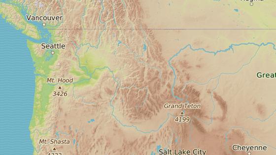 Legenda o bigfootovi žije v americkém Severozápadě a Britské Kolumbii v Kanadě.