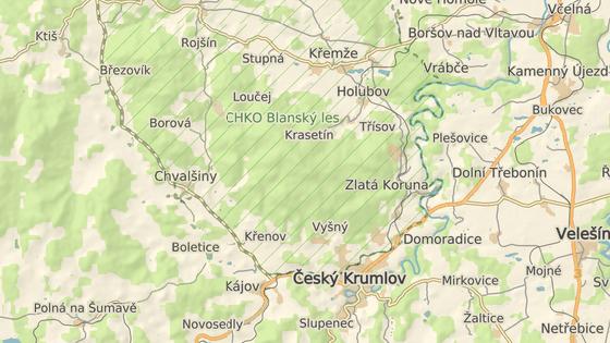 Vrchol Kleti leží v nadmořské výšce 1084 metrů.