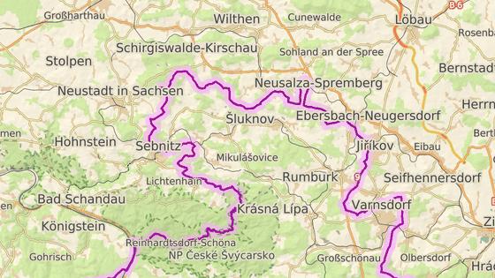 Nemocnice v německých městech Sebnitz a Ebersbach