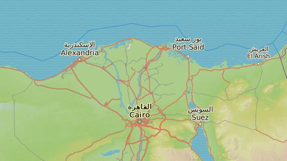 Vlaky se srazily v Alexandrii, přičemž jeden z nich jel údajně z Káhiry a druhý z města Port Said.