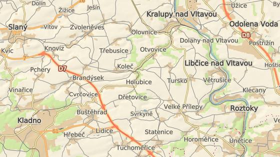 Železniční neštěstí se stalo na nádraží v Zákolanech na Kladensku.