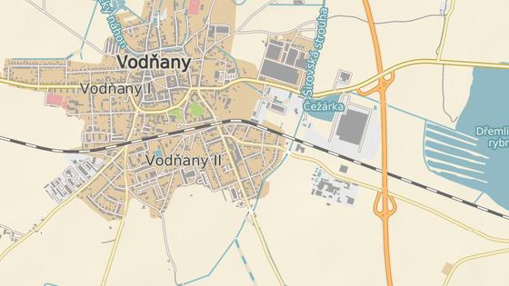 Tragická nehoda se stala v Radomilické ulici ve Vodňanech.