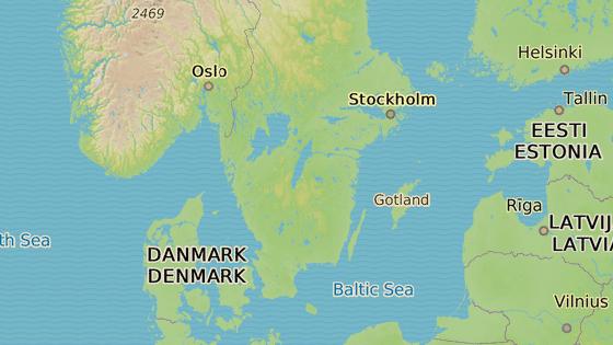 Östergötland, Švédsko