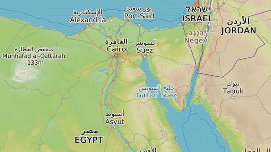 Druhé největší egyptské město Hurghada se nachází na pobřeží Rudého moře.