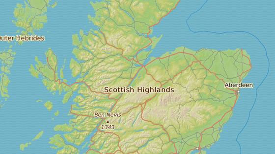 Jezero Loch Ness je součástí Kaledonského kanálu