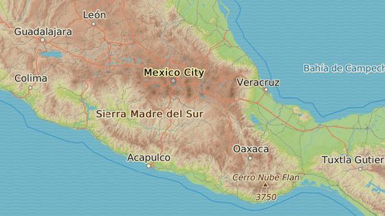 Město Iguala se nachází v mexickém státě Guerrero