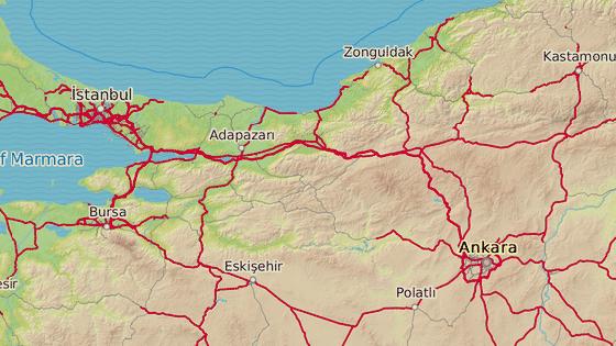 Hendek leží v turecké provincii Sakarya.