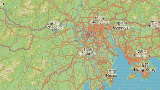 Město Fo-šan v provincii Kuang-tung.