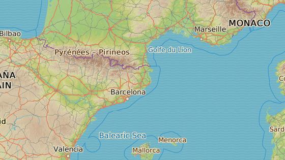 Španělské městečko Gerona