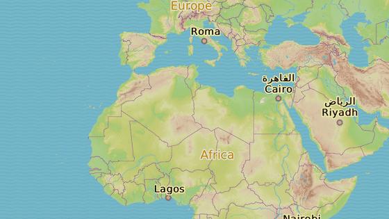 Země skupiny G5: Mauretánie (černá), Mali (červená), Burkina Faso (modrá), Niger (oranžová) a Čad (hnědá).