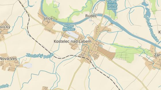 Incident se odehrál v rodinném domě nedaleko policejní stanice v Kostelci nad Labem.