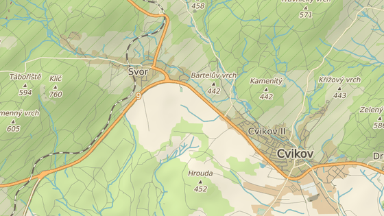 Nehoda se stala nedaleko Cvikova na Českolipsku