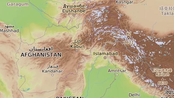 Provincie Ghazní leží na východě Afghánistánu.