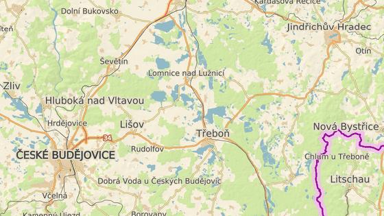 Nehoda se stala za Lomnicí nad Lužnicí.