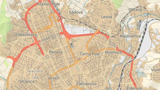 V Husovickém tunelu v Brně se nově spustí úsekové měření rychlosti.