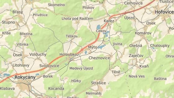 Pachatel vystrašil děti na táboře u Cheznovic.