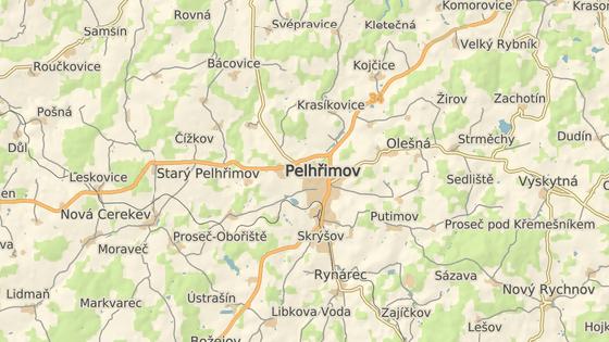 Rybník Stráž leží na jihozápadním okraji Pelhřimova.