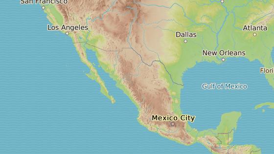 Stát Zacatecas se nachází v centrálním Mexiku.
