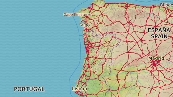 Porto leží na severu Portugalska.