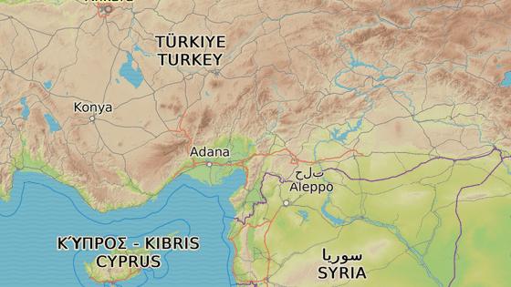 Idlib se nachází nedaleko turecko-syrských hranic.
