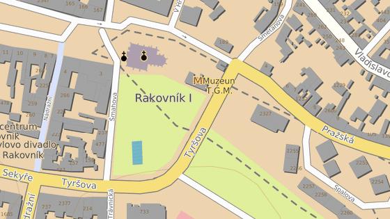 Ulice Tyršova, Rakovník