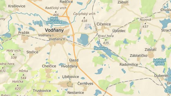 Nehoda se stala v obci Újezd u Vodňan.