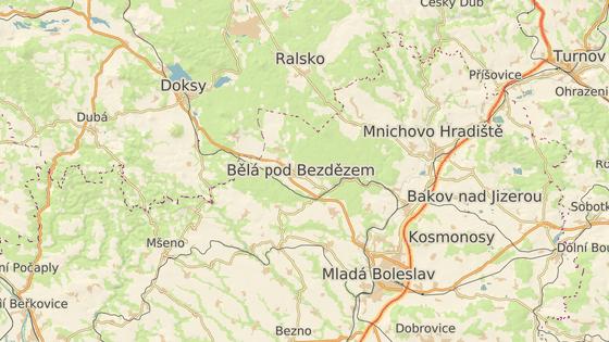 K honičce došlo poblíž obce Bezděz