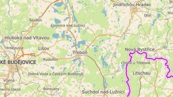 Nehoda blokovala hlavní tah mezi Českými Budějovicemi a Jindřichovým Hradcem.